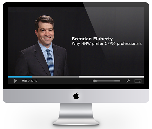 Why HNW prefer CFP® professionals