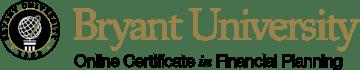 Bryant University Online Certificate in Financial Planning