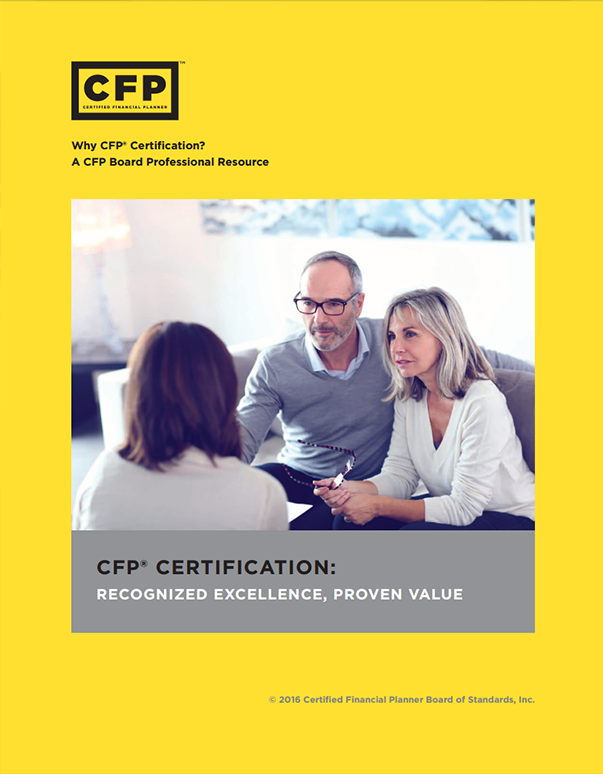 Why CFP Certification